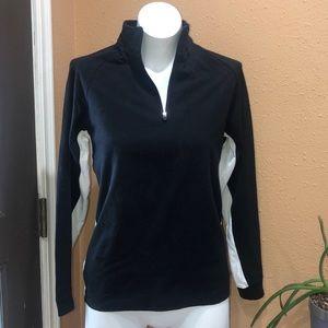 Alpine half zip jacket